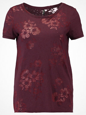 Only ONLNEW MIRA  Tshirt med tryck port royale/burnout