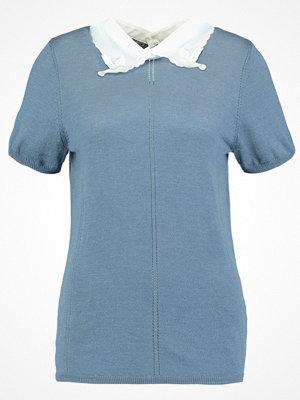 NAF NAF MARQUISE  Tshirt med tryck bleu glacier