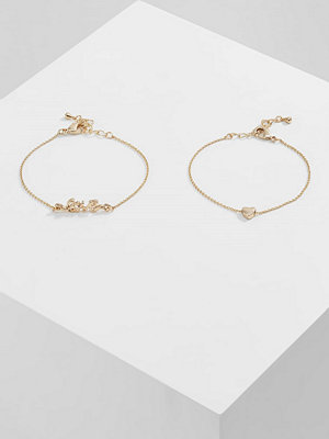 Only ONLBESS LOVE 2 PACK Armband goldcoloured