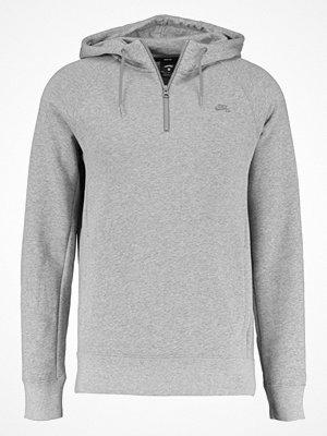 Nike Sb ICON Luvtröja dark grey heather/circuit orange