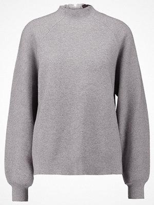 Vero Moda VMPIPPI Stickad tröja light grey melange