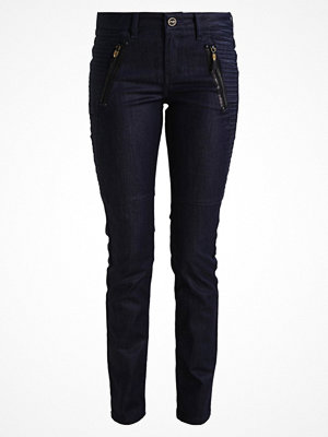 Mos Mosh HALE COATED Jeans slim fit dark blue denim
