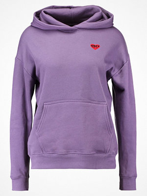 Obey Clothing LONELY HEARTS Luvtröja grape