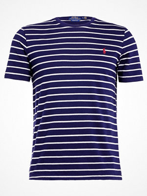 Polo Ralph Lauren SLIM FIT Tshirt med tryck french navy/andov