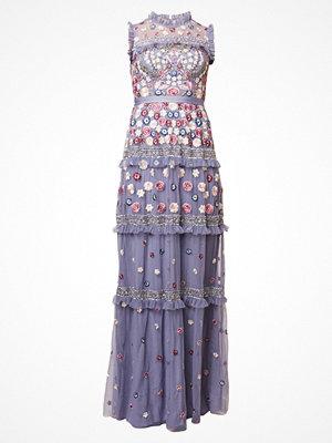 Needle & Thread Festklänning vintage blue