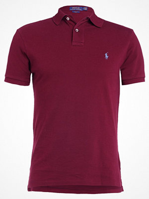 Polo Ralph Lauren WEATHERED SLIM FIT Piké fall burgundy