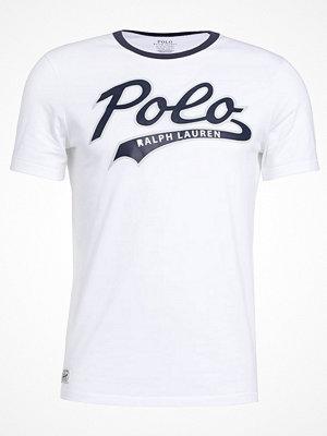 Polo Ralph Lauren SLIM FIT Tshirt med tryck white