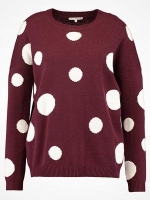 mint&berry REPEAT DOT Stickad tröja burgundy