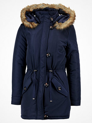 Dorothy Perkins BUTTON Parkas navy