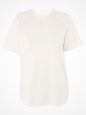 Topshop POWER SHOULDER  Tshirt bas white