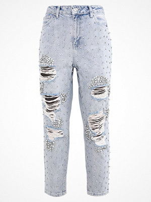 Topshop B&B GEM MOM Jeans relaxed fit bleach