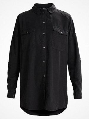 Noisy May NMERIC OVERSIZE FIT Skjortklänning black