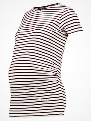 New Look Maternity Tshirt med tryck burgundy