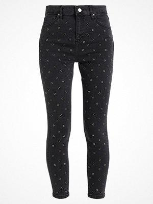 Topshop B&B N EYELET JAMIE Jeans Skinny Fit black