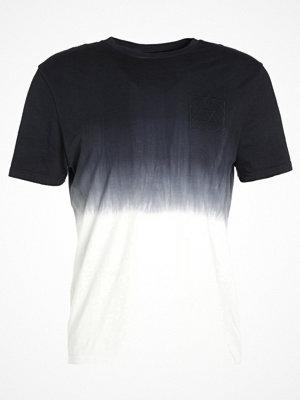 Topman FADE Tshirt med tryck mid blue