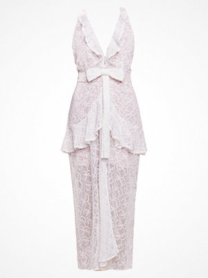 For Love & Lemons RUFFLE Cocktailklänning ivory floral