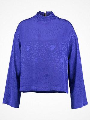 Topshop B&B FLUTE SLEEVE Blus colbalt blue