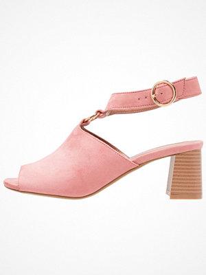 Topshop DAZZLE RING FRONT  Sandaler & sandaletter rose