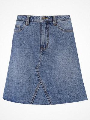Vero Moda VMCAROLYN Jeanskjol medium blue denim