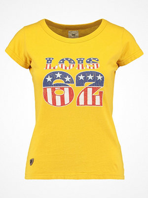 LOIS Jeans UCLA Tshirt med tryck primrose yellow