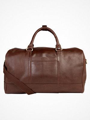 Pier One Weekendbag dark brown