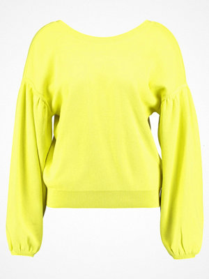 Topshop B&B BALLOON SLEEVE Sweatshirt yellow