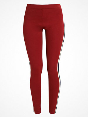 Weekday ALEXA TIGHTS Leggings dark red