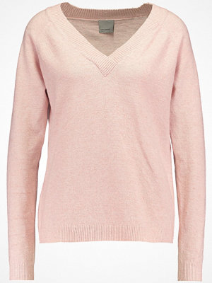 Vero Moda VMBRILLIANT  Stickad tröja rose cloud/melange