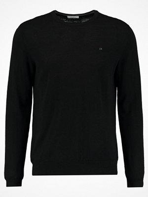 Calvin Klein STAMOS CREW NECK  Stickad tröja black