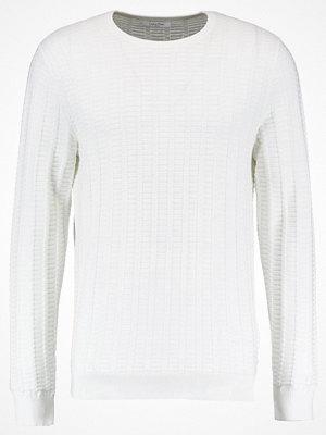 Calvin Klein SLOAN CREW NECK Stickad tröja white