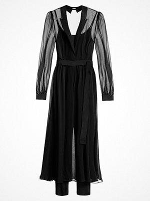 Karl Lagerfeld IKONIK MAXI TRENCH  Maxiklänning black
