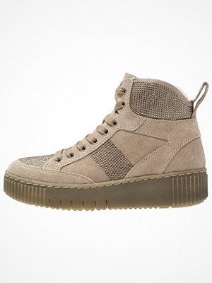 Tamaris Höga sneakers beige