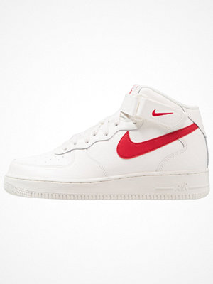 Nike Sportswear AIR FORCE 1 MID '07 Höga sneakers sail/university red