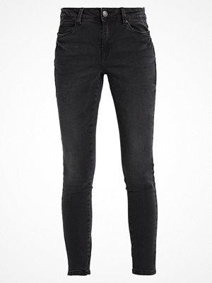 Vero Moda SEVEN NW SUP SLIM SLIT ANKLE JEAN Jeans Skinny Fit black
