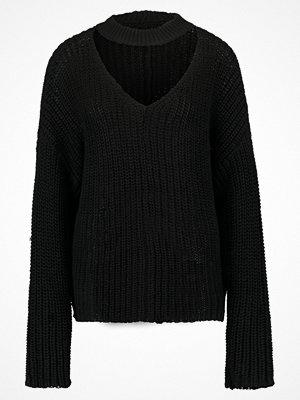 Even&Odd Stickad tröja Black