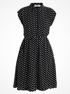 Louche MADINA SPOT Skjortklänning black