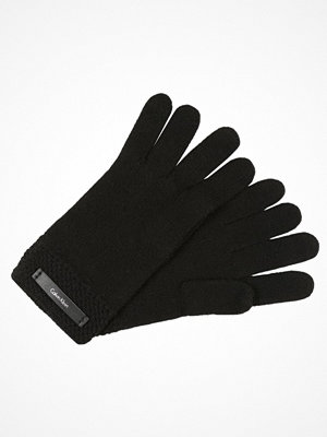 Handskar & vantar - Calvin Klein EMMA GLOVES Fingervantar black