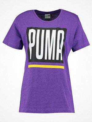 Puma B&&B LOGO Tshirt med tryck royal purple
