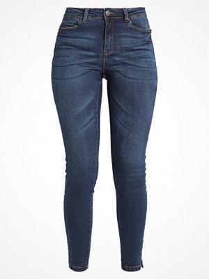 Vero Moda SEVEN NW SUP SLIM SLIT ANKLE JEAN Jeans Skinny Fit dark blue denim