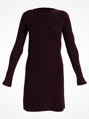 Dorothy Perkins FLUTE SLEEVE  Stickad tröja dark purple