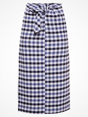 Tibi FAIRFAX GINGHAM  Pennkjol black/multi