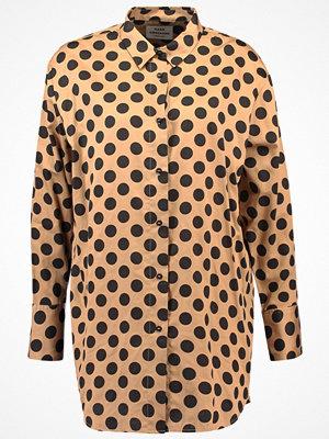 Mads Nørgaard Skjorta beige/black