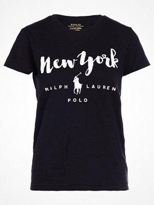 Polo Ralph Lauren Tshirt med tryck polo black new yo