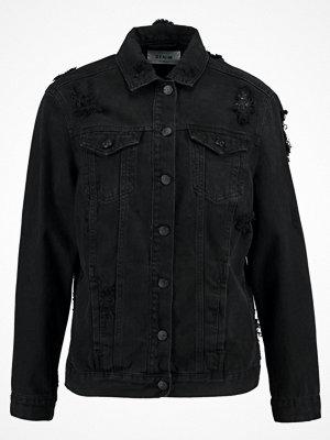 New Look CHEZZA OVERSIZE Jeansjacka black