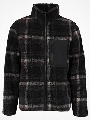 Sportjackor - Topman CHECK CAREY Fleecejacka grey