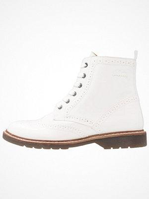 Boots & kängor - s.Oliver RED LABEL Snörstövletter white