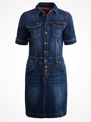 s.Oliver RED LABEL Jeansklänning blue denim