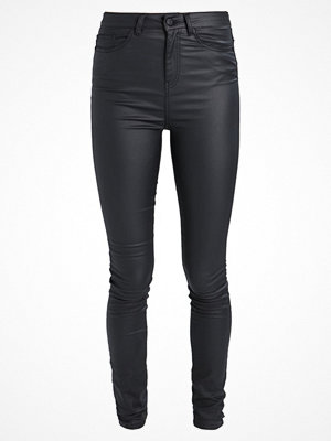 Noisy May Tall NMLEXI DELUXE COATED Jeans Skinny Fit black