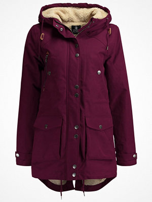Volcom WALK ON BY  Parkas plum