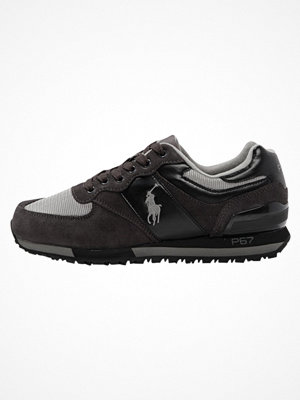 Polo Ralph Lauren SLATON PONY Sneakers black/charcoal